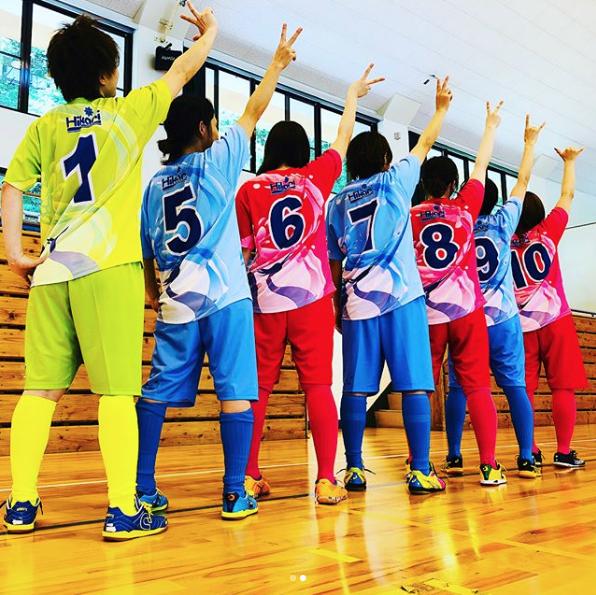 女子サッカー・フットサルユニフォーム