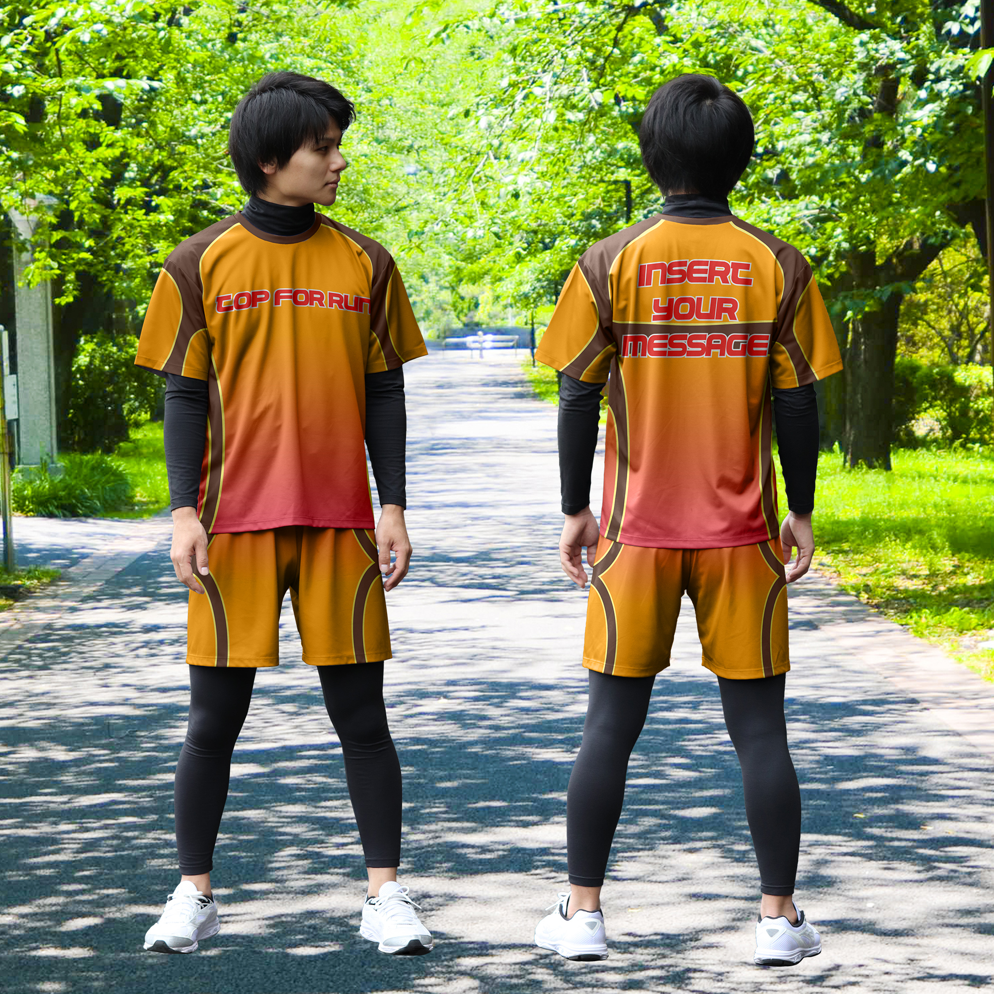 マラソン_デザイン2_オレンジ